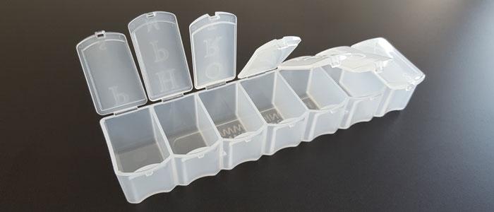 Rapid Tooling - Living Hinge Plastic Prototype